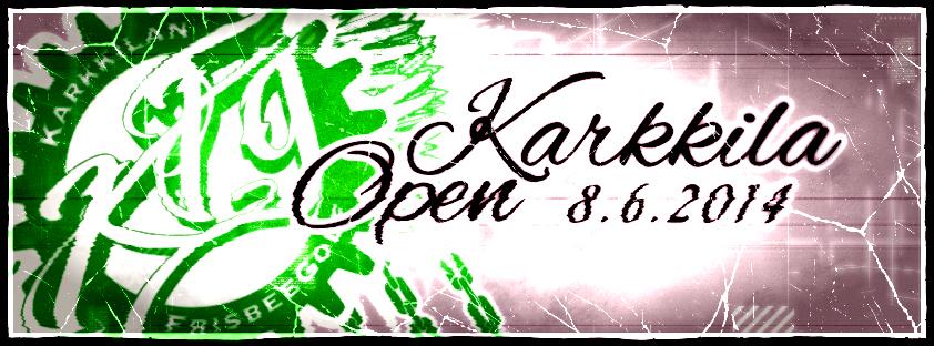 Karkkila Open 2014